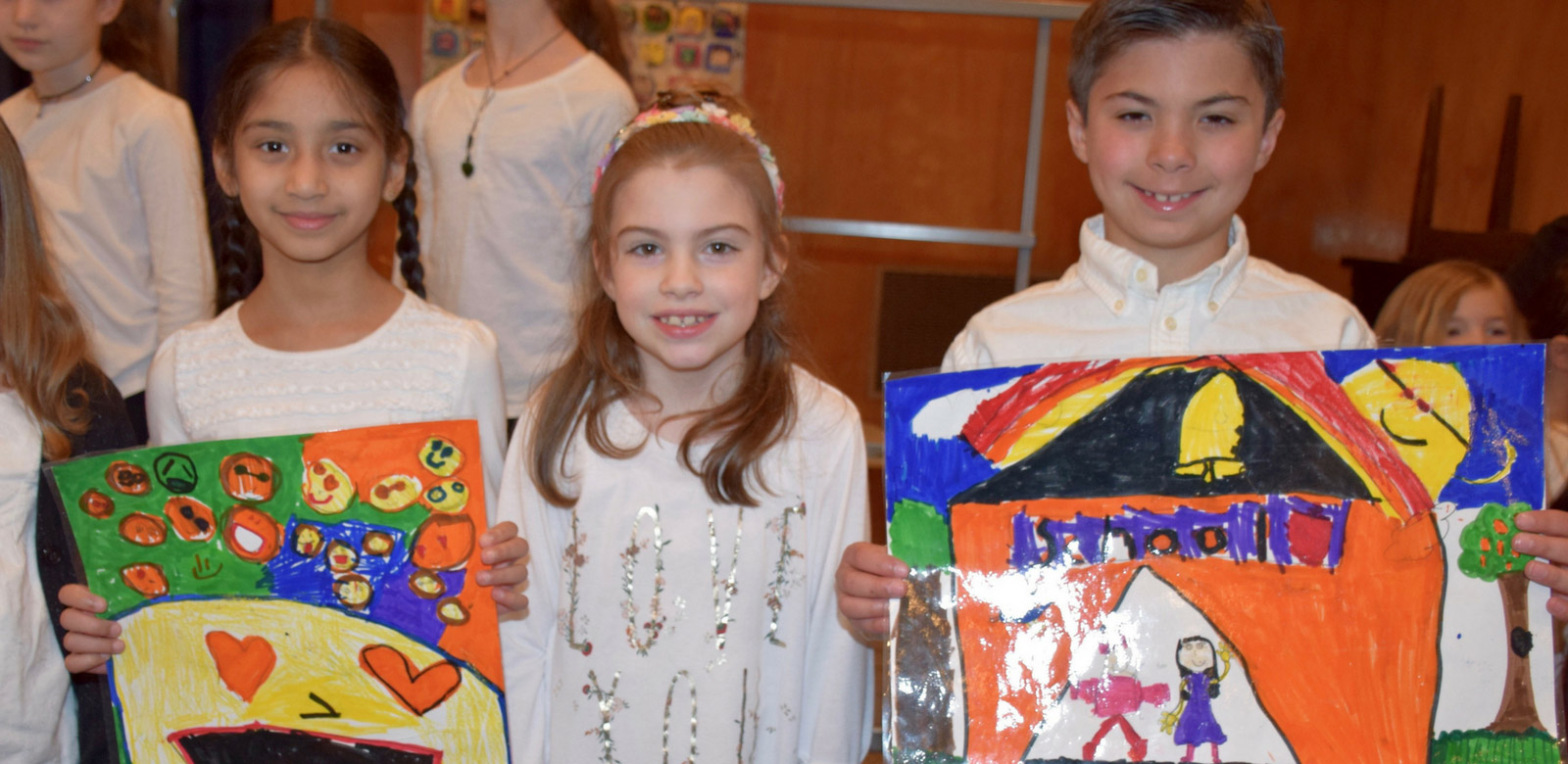 Second-Graders Celebrate Earth Day Photo