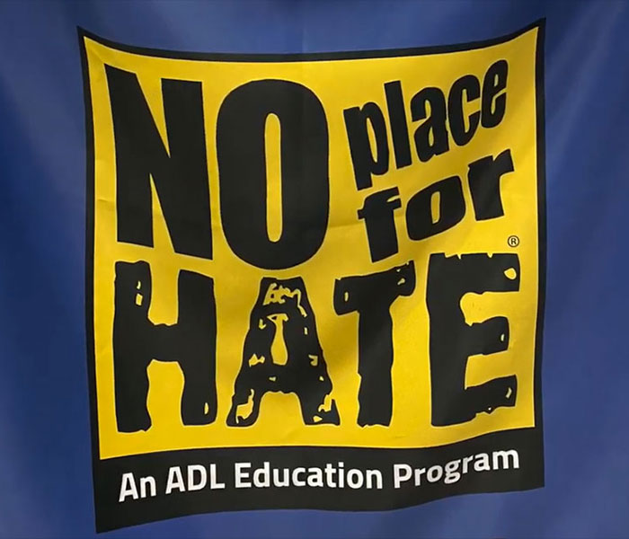 EMS Students share the No Place for Hate Pledge