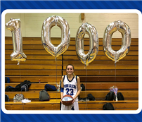 Student-Athlete Reaches 1,000-Point Milestone photo