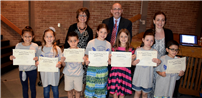 Harley Knights Honored by the Board of Education Photo
