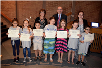 Harley Knights Honored by the Board of Education Photo 2