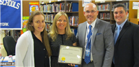 Board of Ed Recognizes Outstanding Staff Members Photo 2