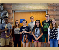 Elwood musicians selected for All-National, All-State and All-County photo