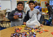 Elwood Students Gather Treats for Troops photo 2