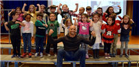 Author Inspires Elwood Students Photo