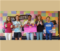 EMS National Junior Honor Society Food Drive photo